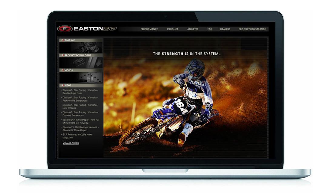 Easton EXP Website