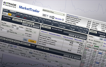 E*TRADE MarketTrader UI