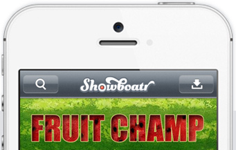 Showboatr iPhone App