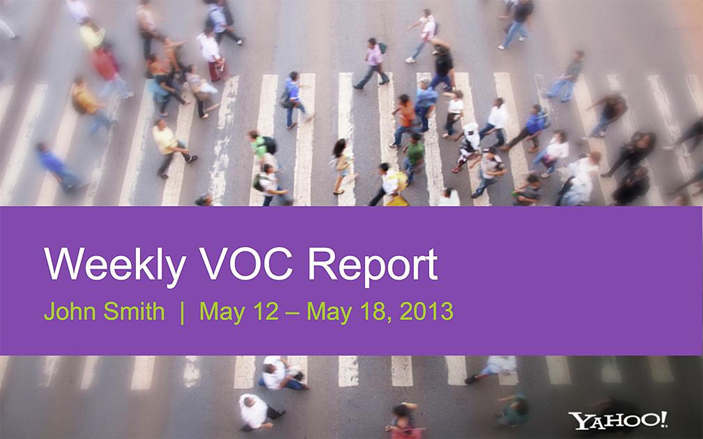 Yahoo Presentation