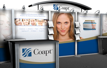 Coapt Booth Graphics